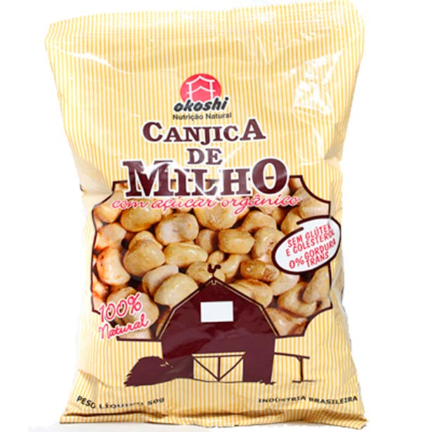 Canjica com Açúcar Orgânico Hikage