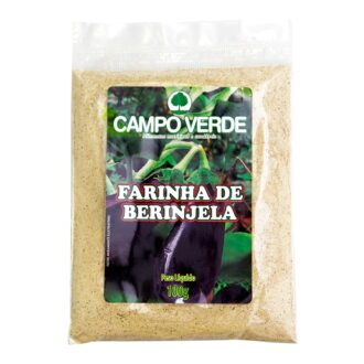 Farinha De Berinjela Campo Verde