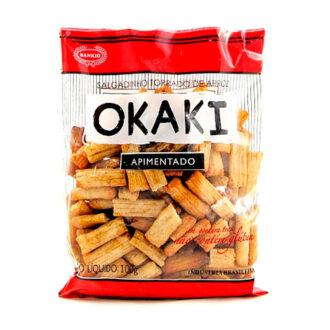 Okaki Apimentado Salgadinho de Arroz Torrado
