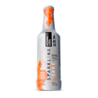 Sparkling Sake Grapefruit
